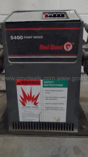 Red Devil Paint Shaker