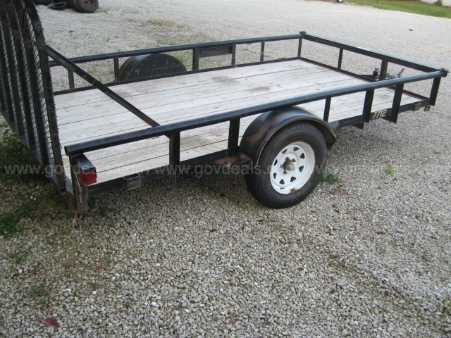 2008 12 foot utility trailer