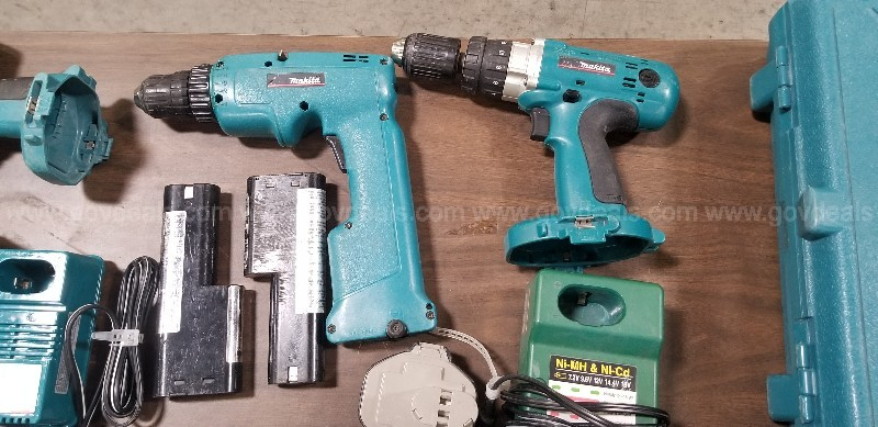 Miscellaneous Makita Tools, Batteries and Chargers