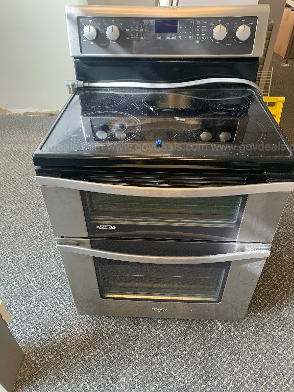 6.7 Cu. Ft. Electric Double Oven Range