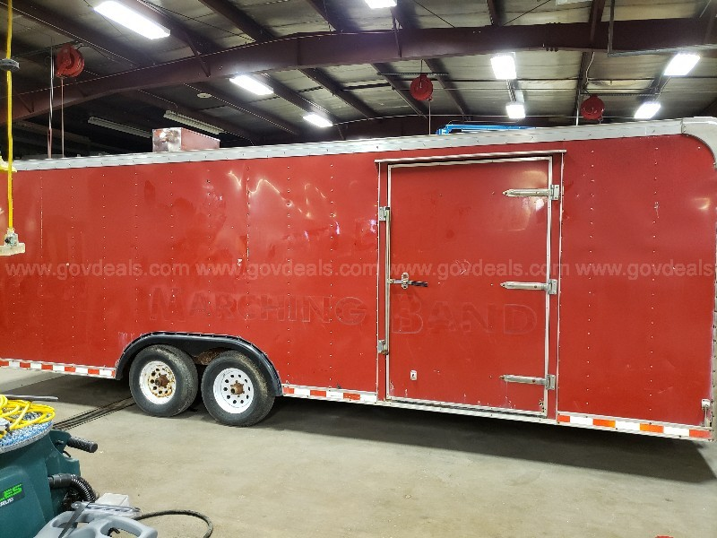2000 Pace American SC8524TA3 10,000 lbs. GVWR Enclosed Trailer