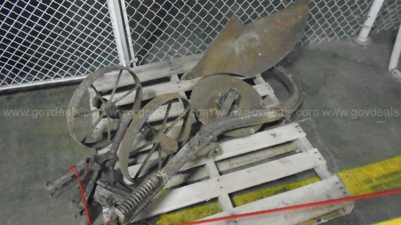 Lot of Miscellaneous Horse Drawn Farm Equipment