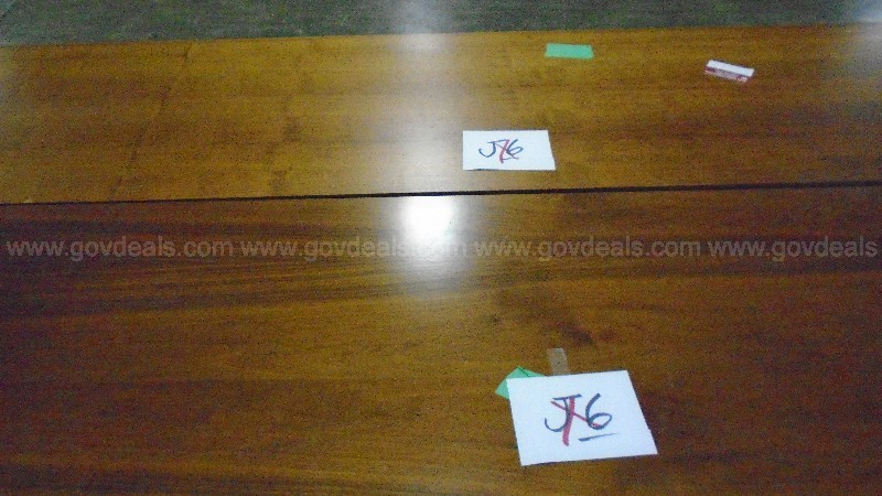 Lot of 2 Wood Credenzas