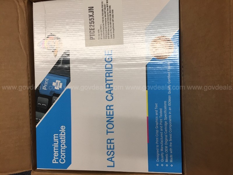 HP COMPATABLE CE255X TONER CARTRIDGE
