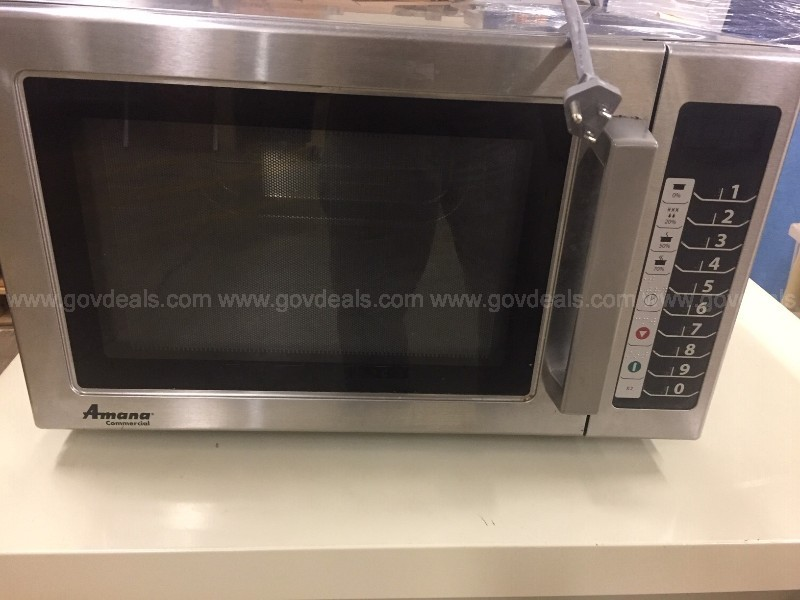 AMANA COMMERICAL MICROWAVE