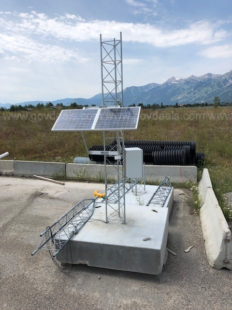 2 - Mobile 25' Towers with Solar Power Supply