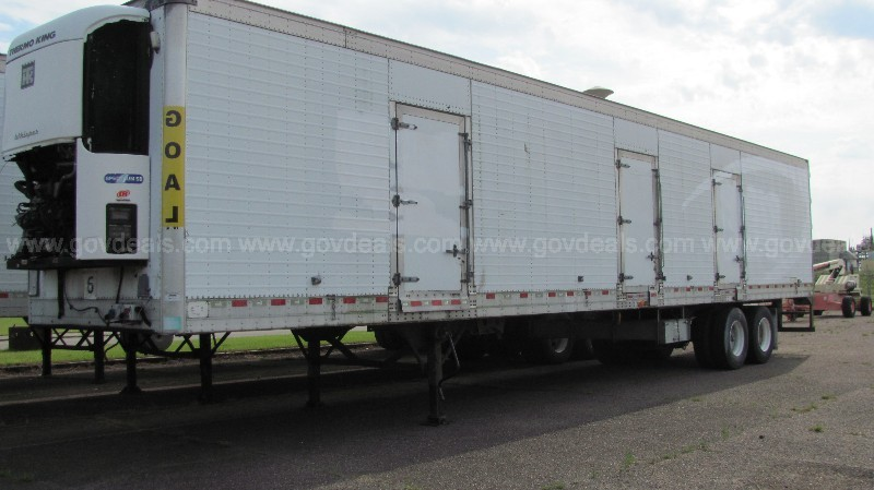 2006 Kidron 53' Reefer Trailer with Aluminum Side and Floor