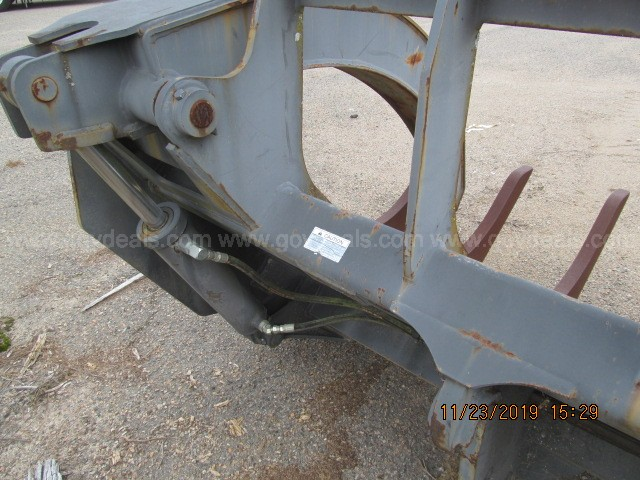Rockland Loader Rake with Clamps # LRC-IT62G