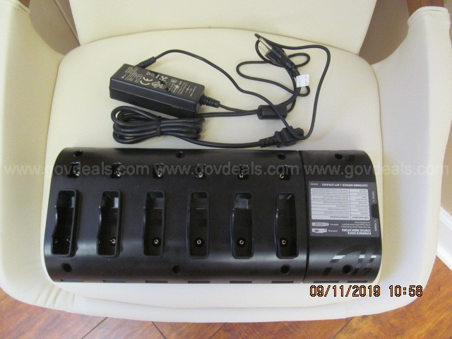 Axon Docking Station with 6 ea Axon Flex Cameras/Controller & Accessories