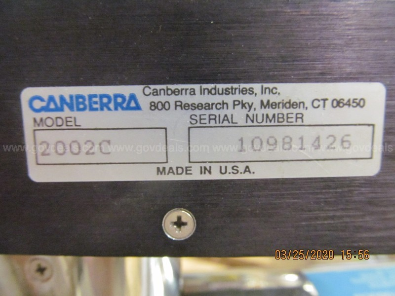 Lot of Chemical Detectors* Bicron/Canberra