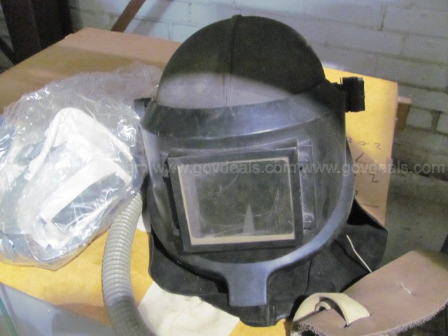 3M Welding Helmet , Air Supplied, with Hose and Spare Parts