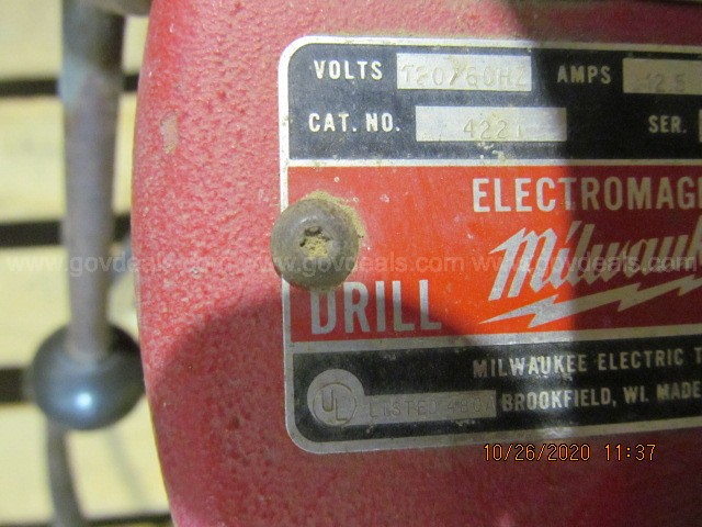Milwaukee Drill Press