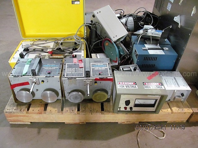 Lot of 3 pallets of Misc Lab Equipment
