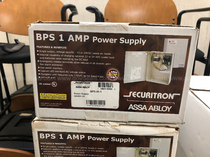 Securitron BPS-24-1 1 Amp 24VDC Power Supply