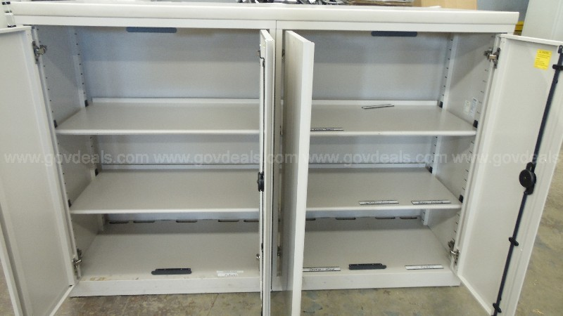 2 Steelcase Metal Cabinets
