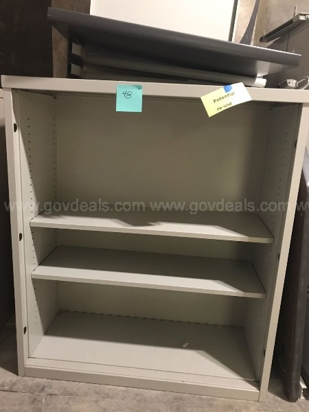 Metal Open Shelved Filing Cabinet