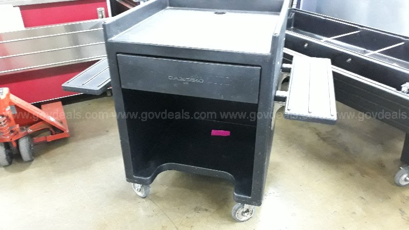 Cambro point of sale cart