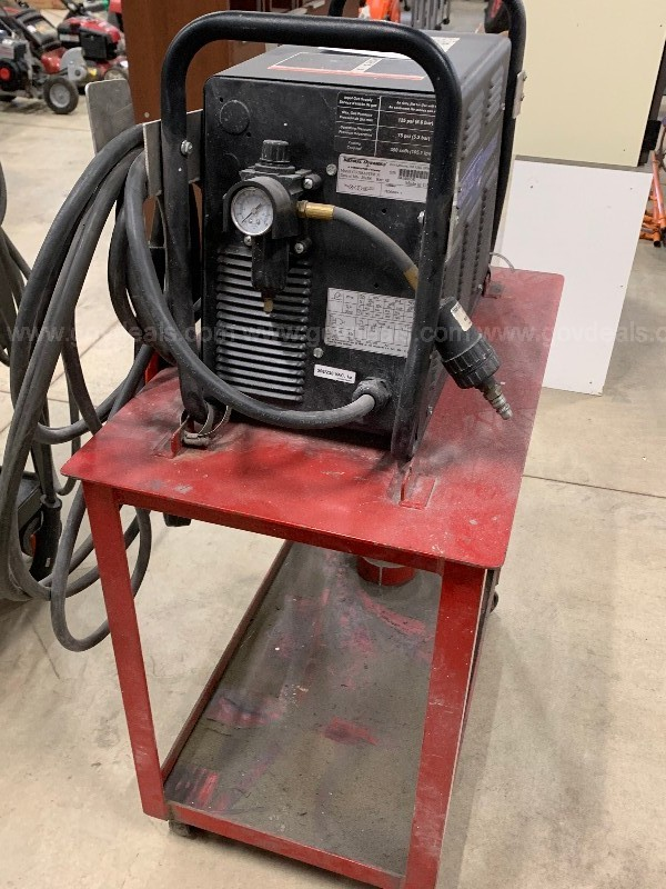 Thermal Dynamics Cutmaster 51 plasma cutter with stand.