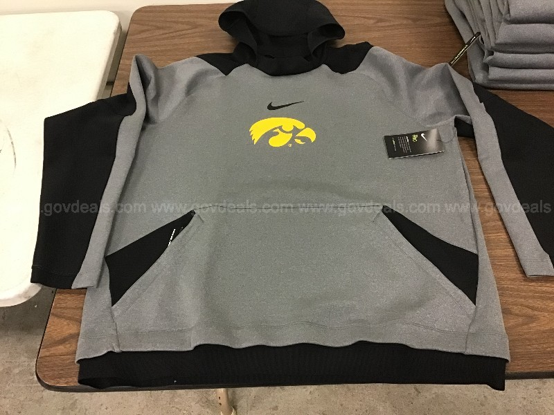 Lot of 7. Size XL. Nike Dri Fit Pro Long sleeve pullover hoodie