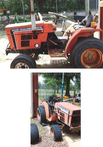Allis Chalmers 5015/9518 Tractor