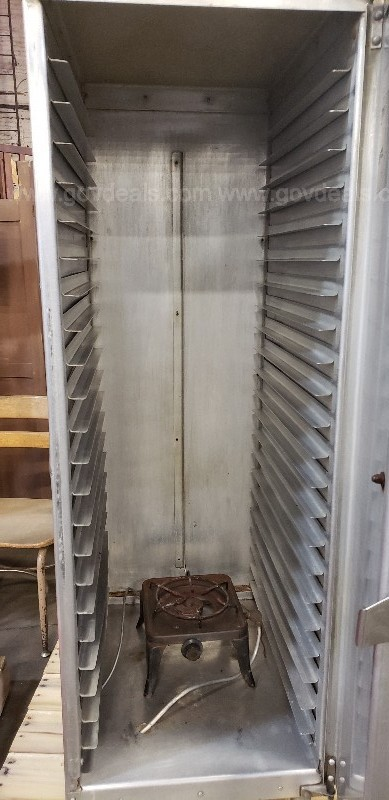 *** COMMERCIAL HEATED CABINET ***