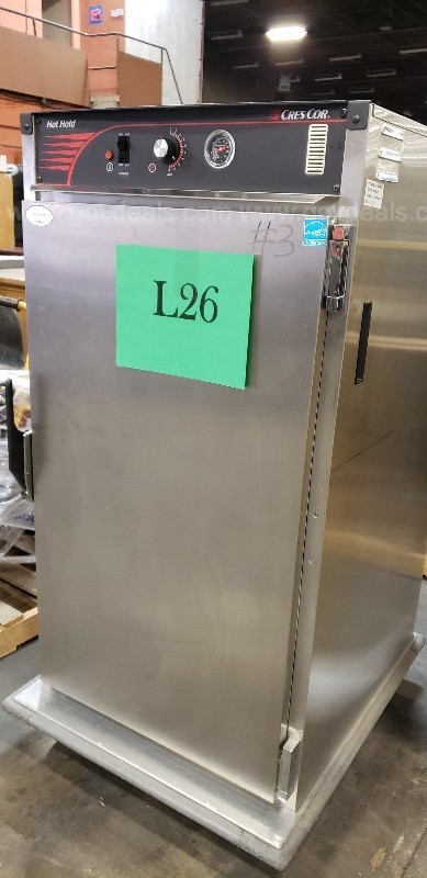 *** CRES COR COMMERCIAL MOBILE FOOD CABINET-SINGLE DOOR ***