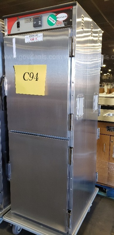 *** BEVLES COMMERCIAL MOBILE FOOD CABINET-THREE DOOR ***