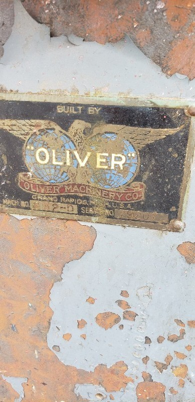 *** WOOD WORKING MACHINE OLIVER TABLE SAW ***