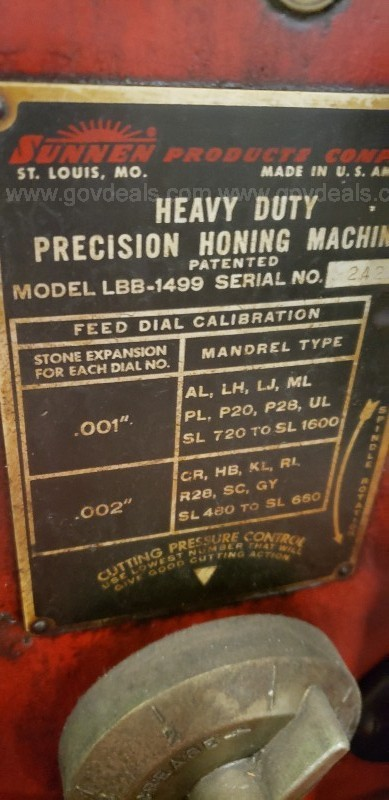 *** SUNNEN AG-300 PRECISION GAGE / HONING MACHINE ***