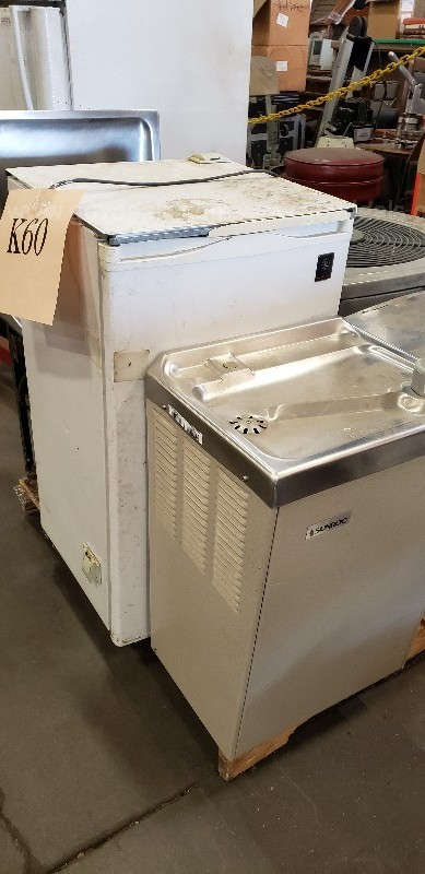 *** ASSORTED REFRIGERATION: AC UNIT/REF/WATER FOUNTAIN ***