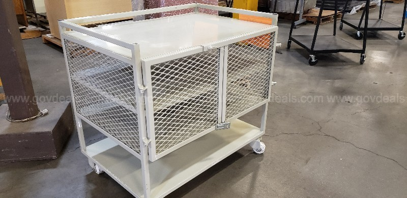 *** SECURITY METAL WIRE CART ***