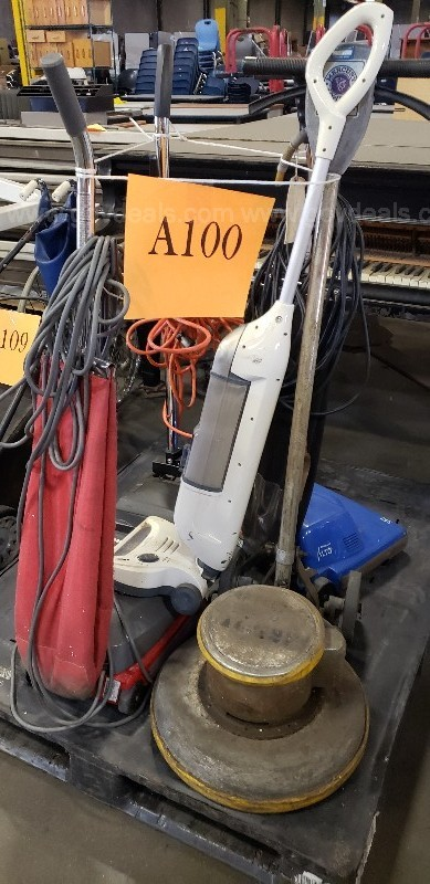 *** ASSORTED CLEANING EQUIPMENT ***