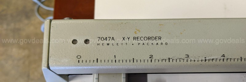Two (2) Used XY Data Recorders