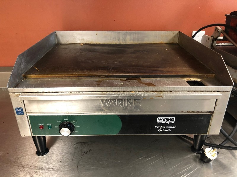 Warning Griddle & Amana Microwave