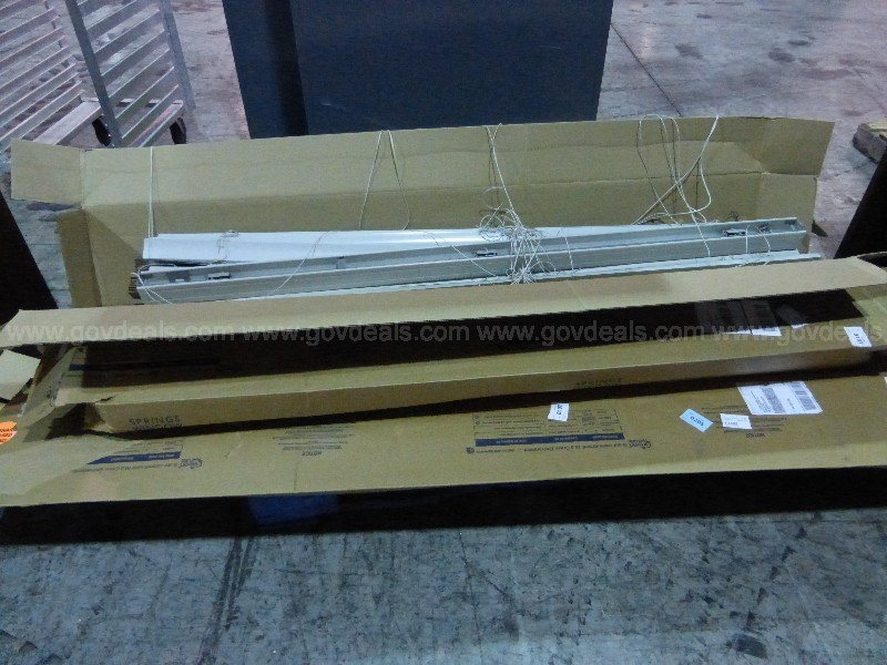1 Skid of Misc. Window Blinds