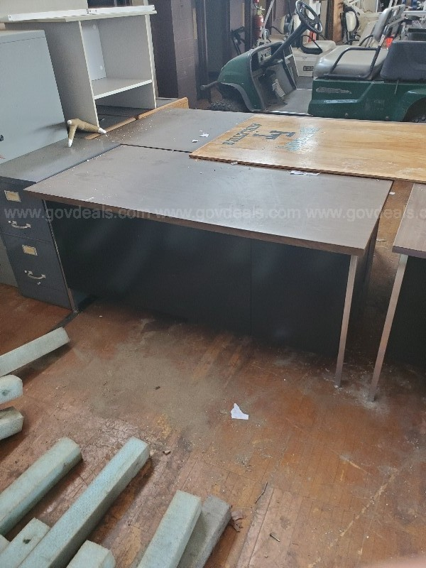 A Lot of Assorted Desks (30 or More)