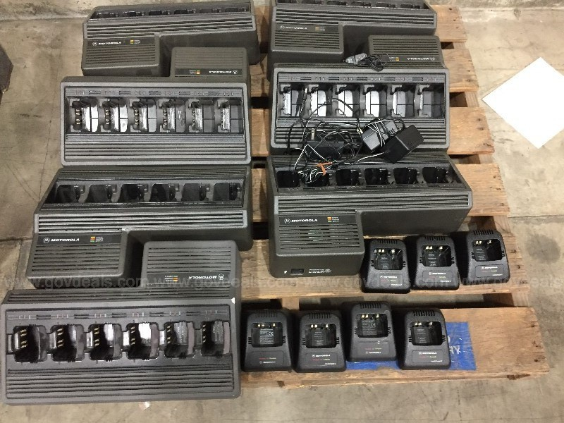Lot of Single and Multi pocket battery chargers