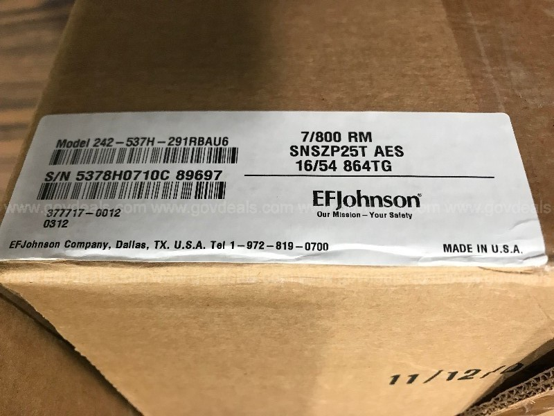 EF Johnson 5300 Installation Kit, Accessories Only - 45 Individual Kits