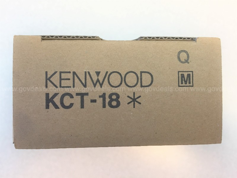1,025 KENWOOD KCT-18 IGNITION SENSE CABLES, NEW IN BOX