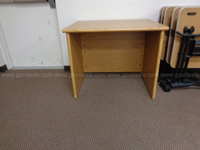 Small wooden desk