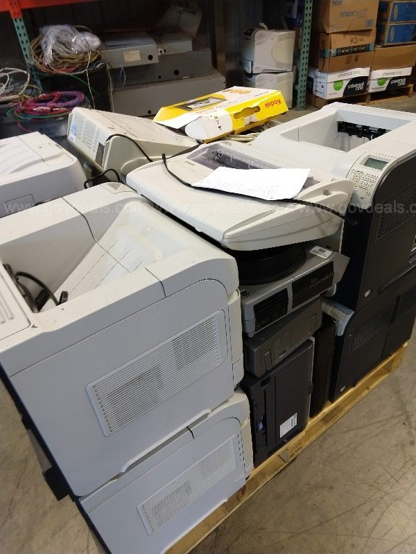 Lot of Assorted Office Equipment