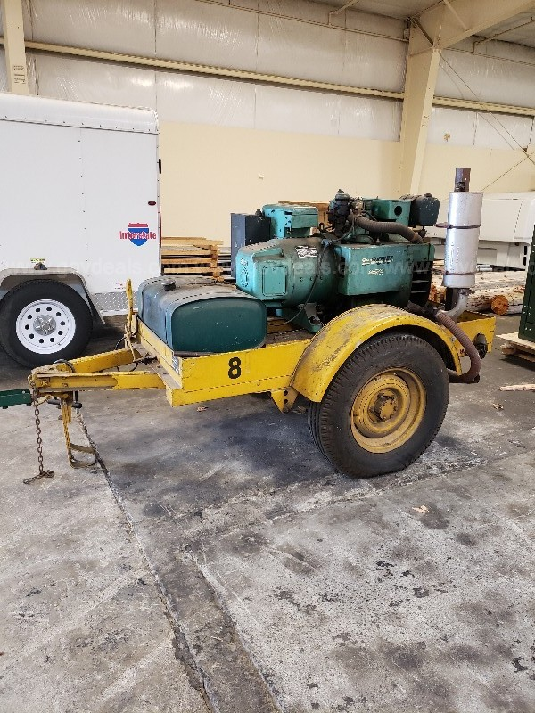 1952 Trailer Mounted Onan Generator