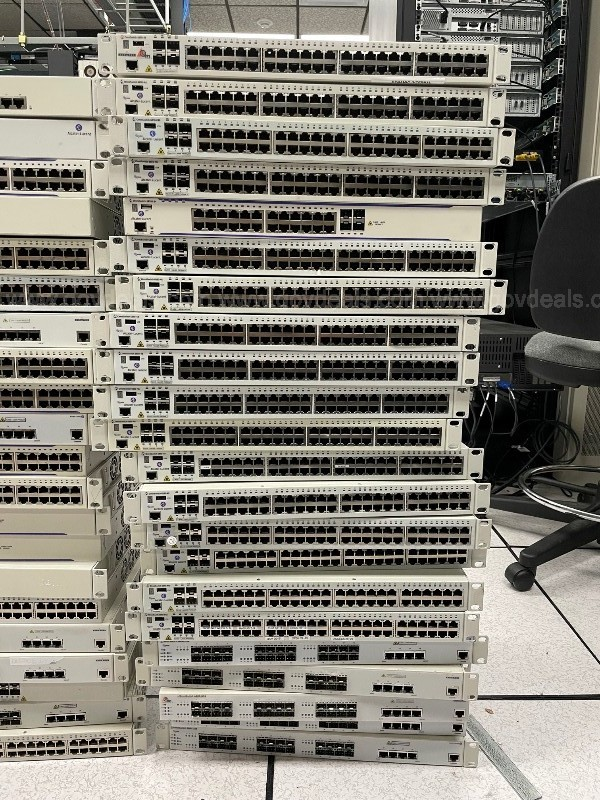 Alcatel Lucent, Gigabit Network Switches, Networking Equipment, Omniswitch