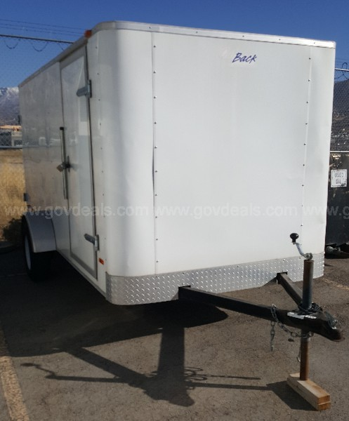 2007 OUTBACK BY PACE AMERICAN UTILITY TRAILER.