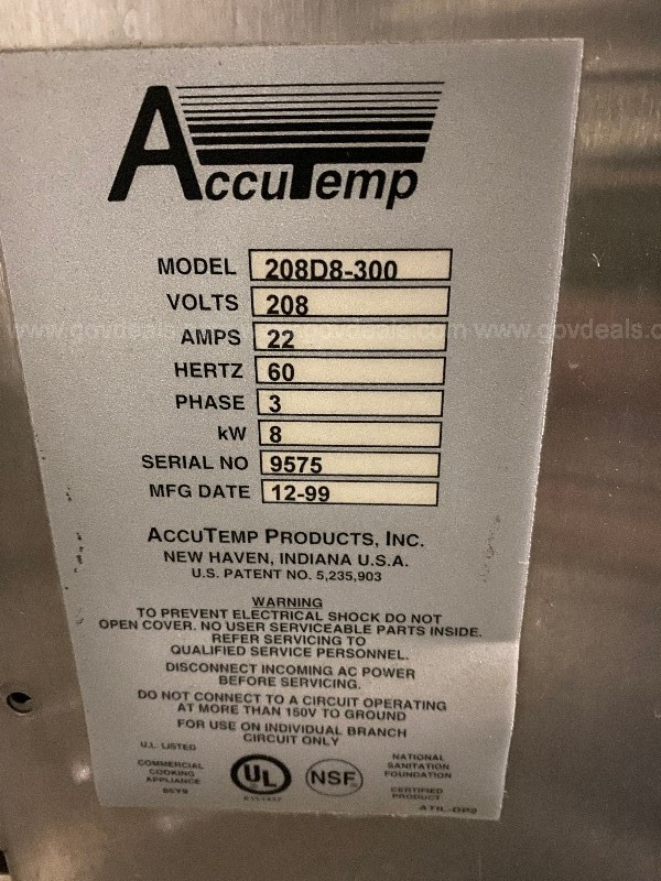 AccuTemp steamer & hold with stand