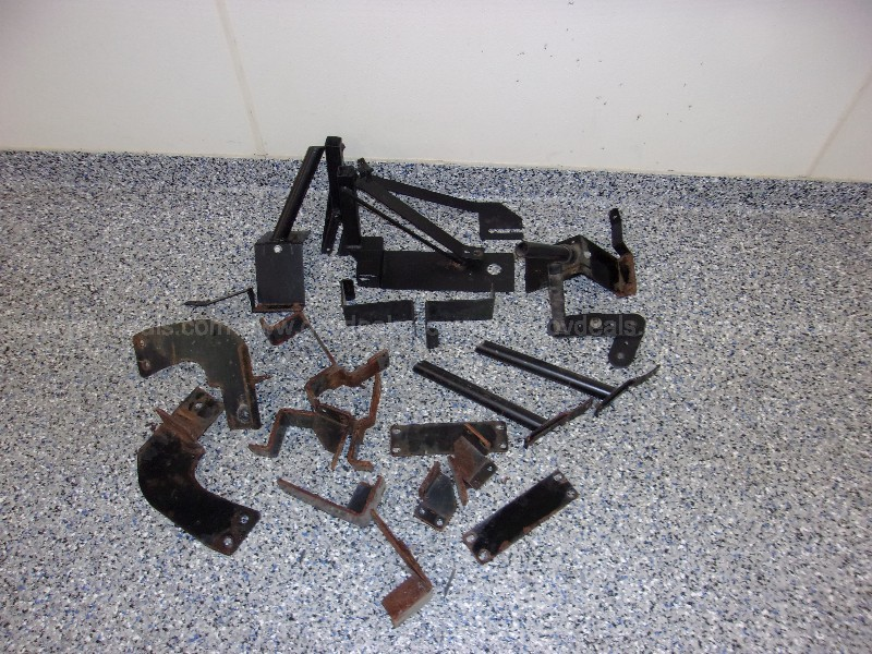 Grouping of Various Used Metal Mounting Brackets, In Car Computer Stands