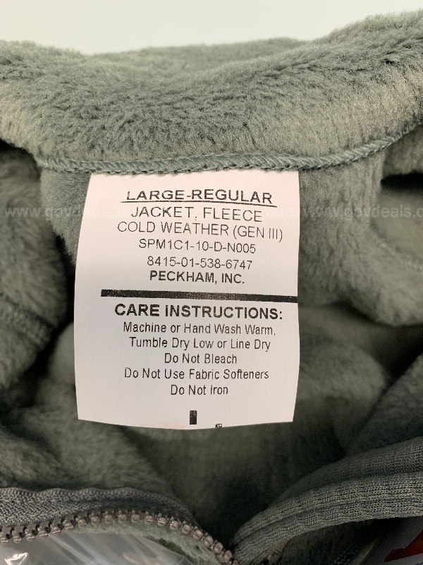 Polartec Fleece Jacket - Large Regular