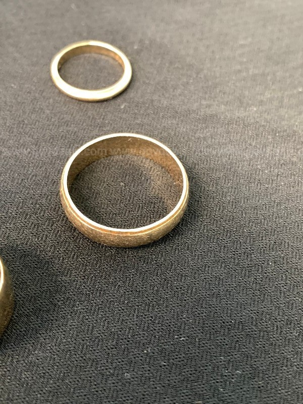 Five Gold Rings 14kt