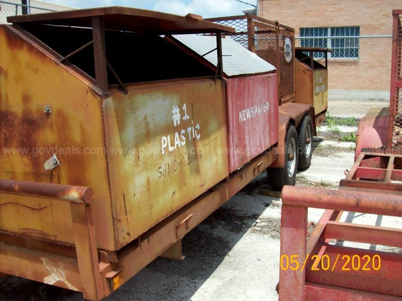 8 FT X 19 FT RECYCLING TRAILER - TRAILER #6