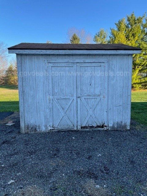 "8'x10"" Shed"